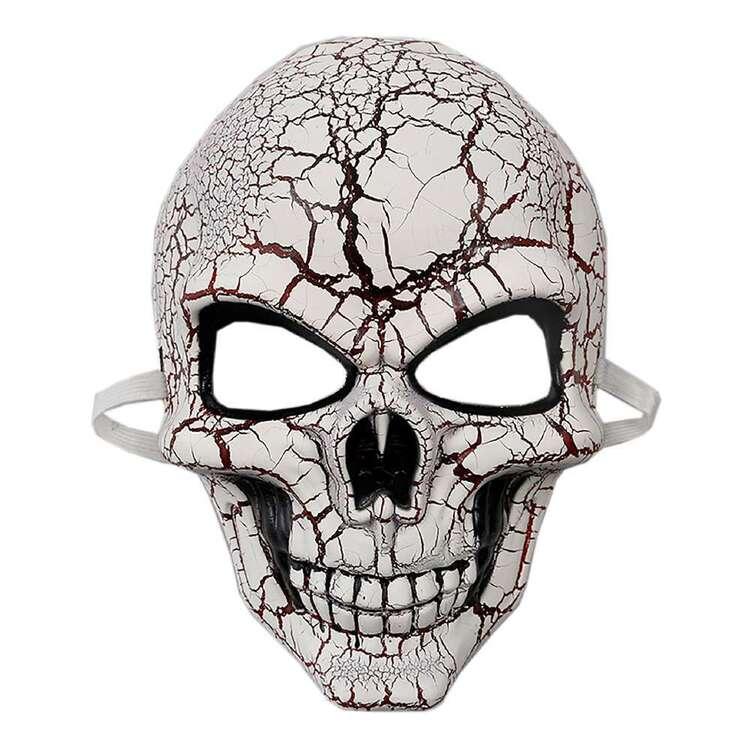 Spooky Hollow Cracked Skeleton Mask