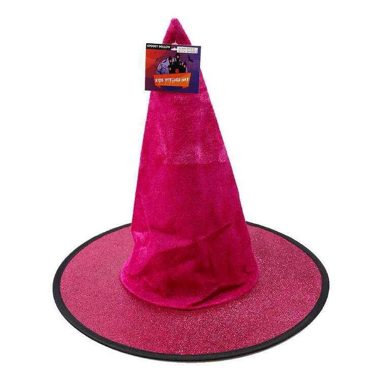 Spooky Hollow Kids Glitter Witches Hat