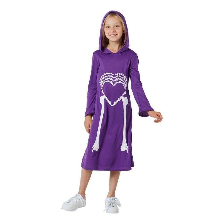 Spooky Hollow Kids Skeleton Heart Dress