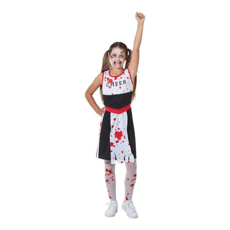 Spooky Hollow Kids Zombie Cheerleader Costume