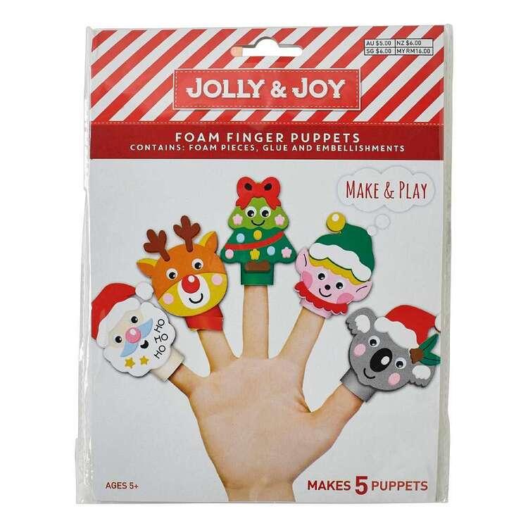 Jolly & Joy Finger Puppet DIY Kit 5 Pack