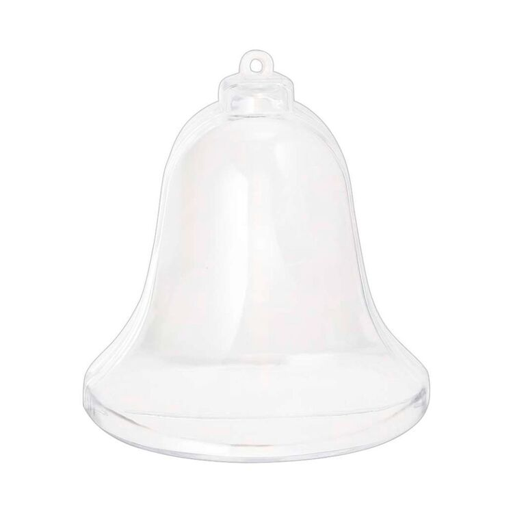 Jolly & Joy Bell Fillable Bauble 4 Pack