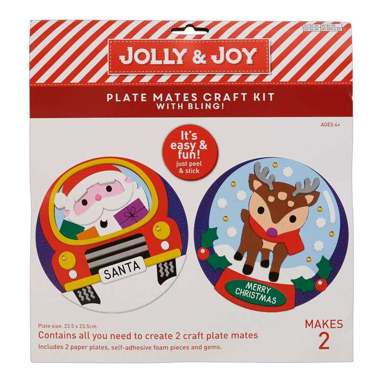 Jolly & Joy Plate Mates Craft Kit 2 Pack