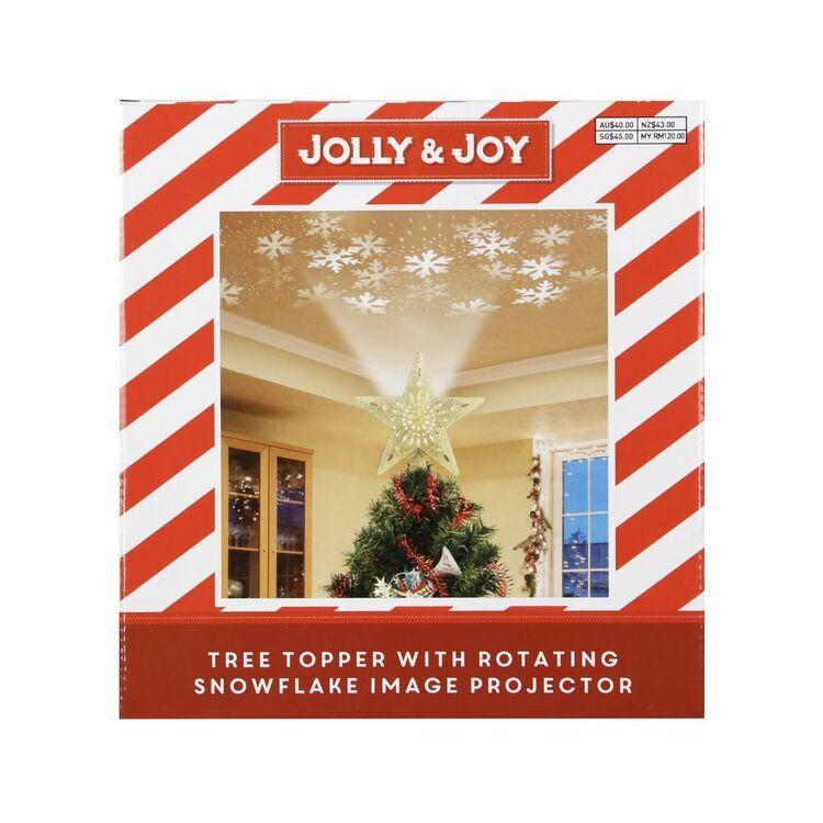 Jolly & Joy Tree Topper Projector