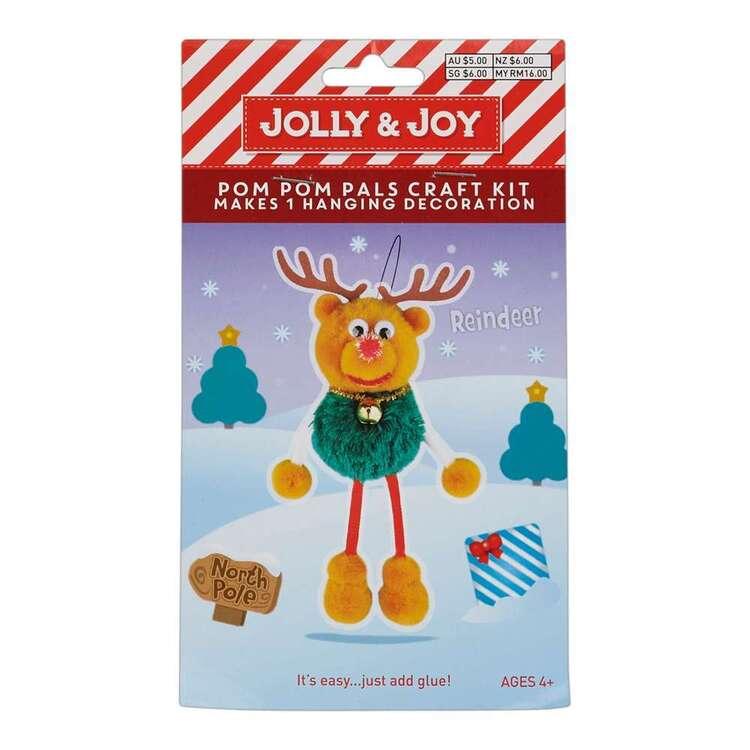 Jolly & Joy Reindeer Pom Pom Pals Kit