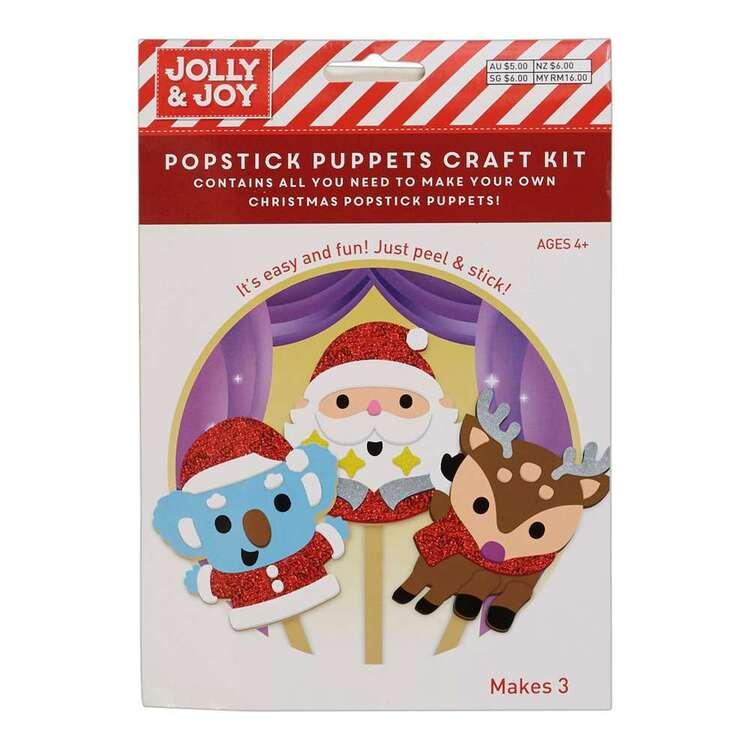 Jolly & Joy Pop Stick Puppets Kit