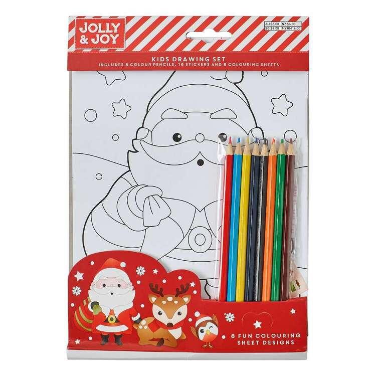 Jolly & Joy Christmas Kids Drawing Set