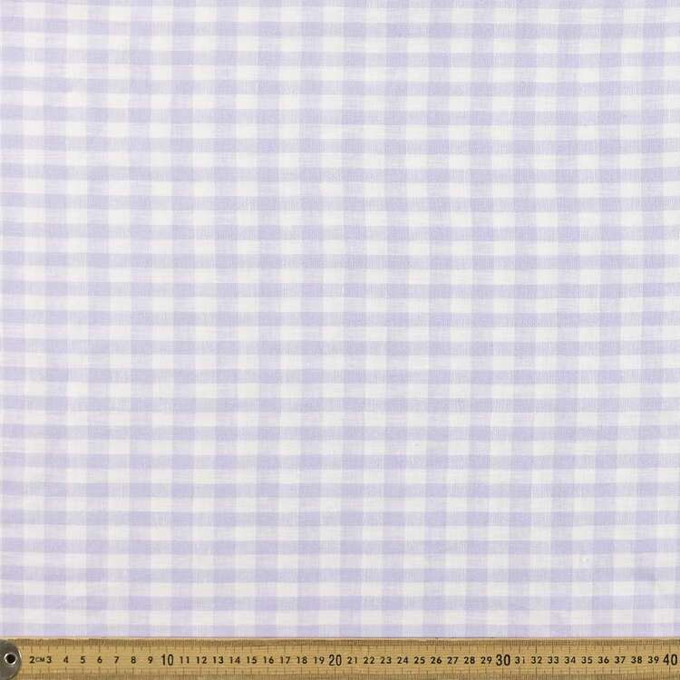 Yarn Dyed Gingham Check Printed 135 cm Linen Fabric