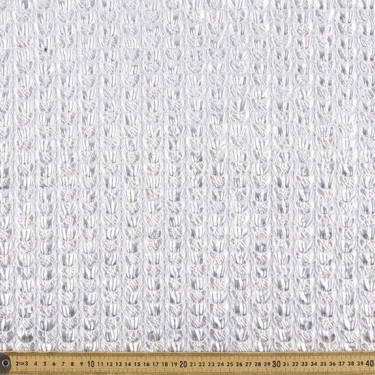 Metallic Scales 128 cm Pleather Fabric