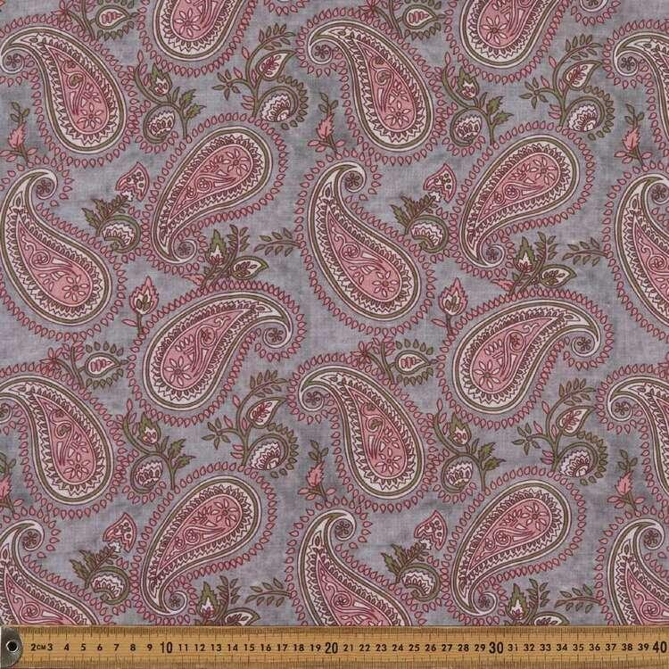 Paisley G10 Printed 140 cm Pippa EZ Care Crepe Fabric