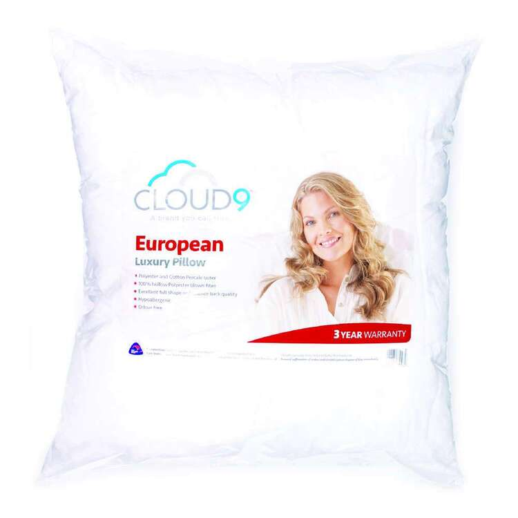 Cloud 9 Polyester European Pillow