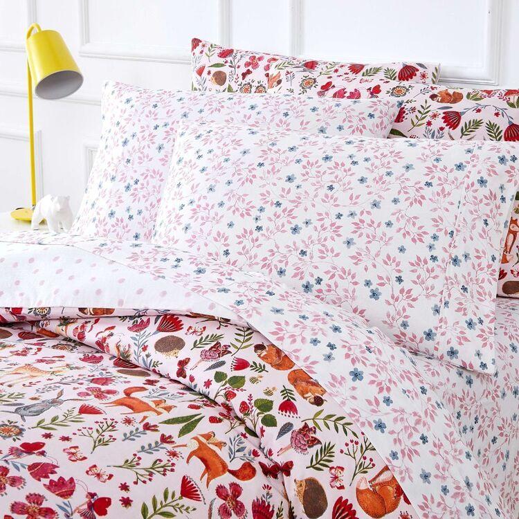 Kids House Enchanted Washed Cotton Sheet Set
