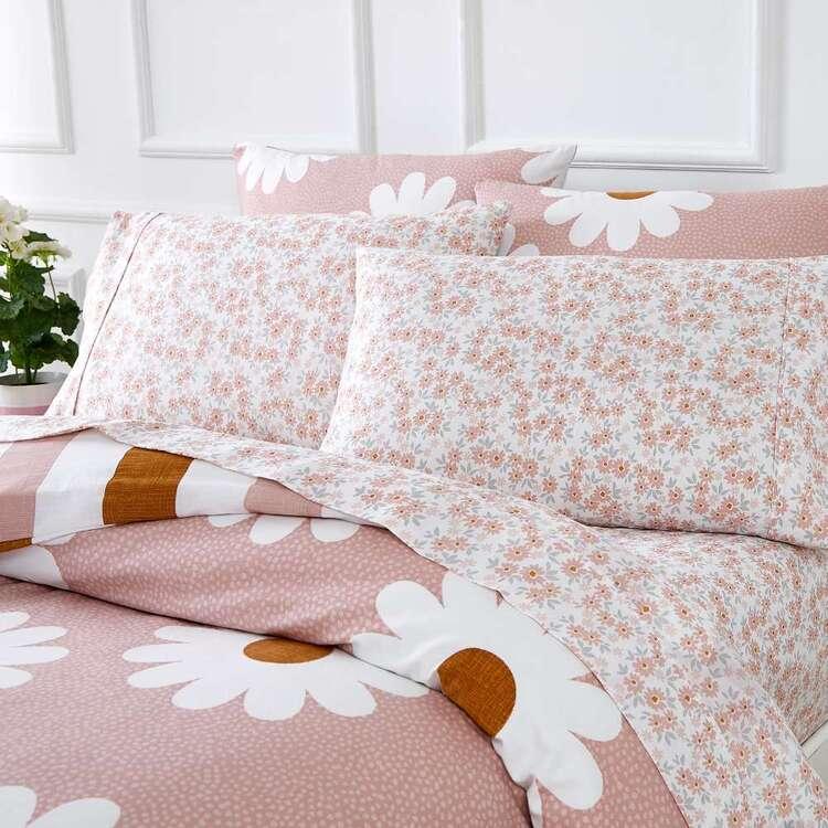 Kids House Daisy Washed Cotton Sheet Set