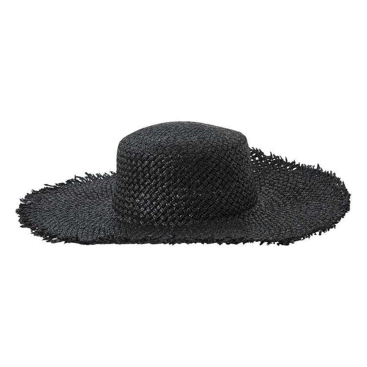 Maria George Raffia Wide Brim Hat