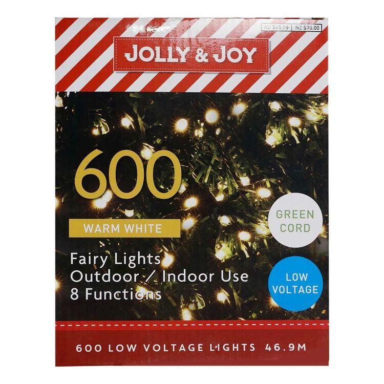Jolly & Joy 600 Low Voltage Lights Green Cord
