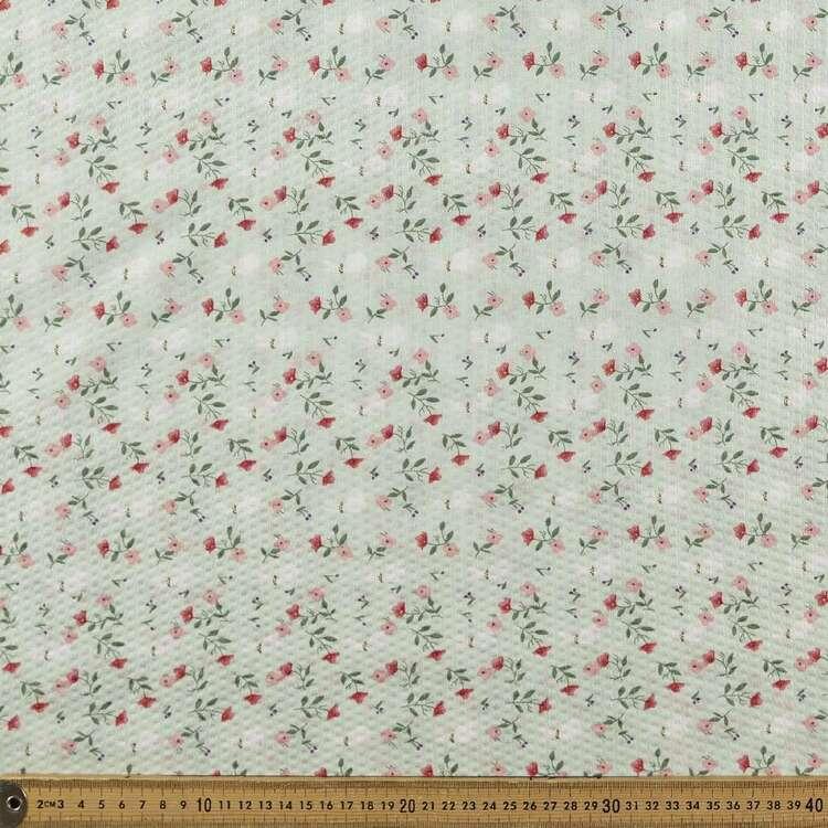 Fields #1 Printed 130 cm Crinkle Chiffon Fabric