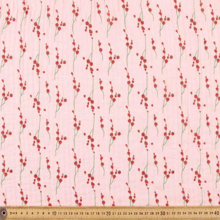 Fields Printed 132 cm Crinkle Chiffon Fabric