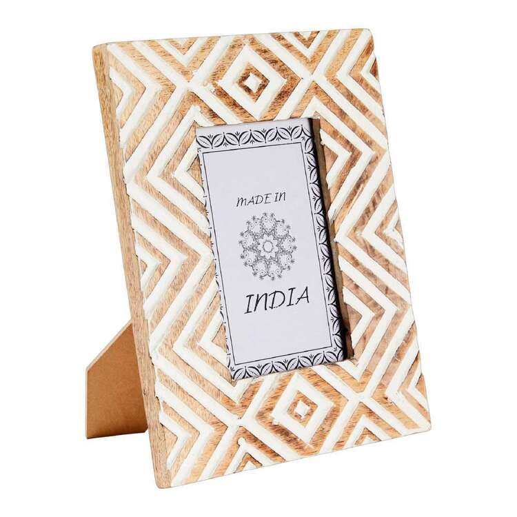 Living Space Mira Wooden Photo Frame