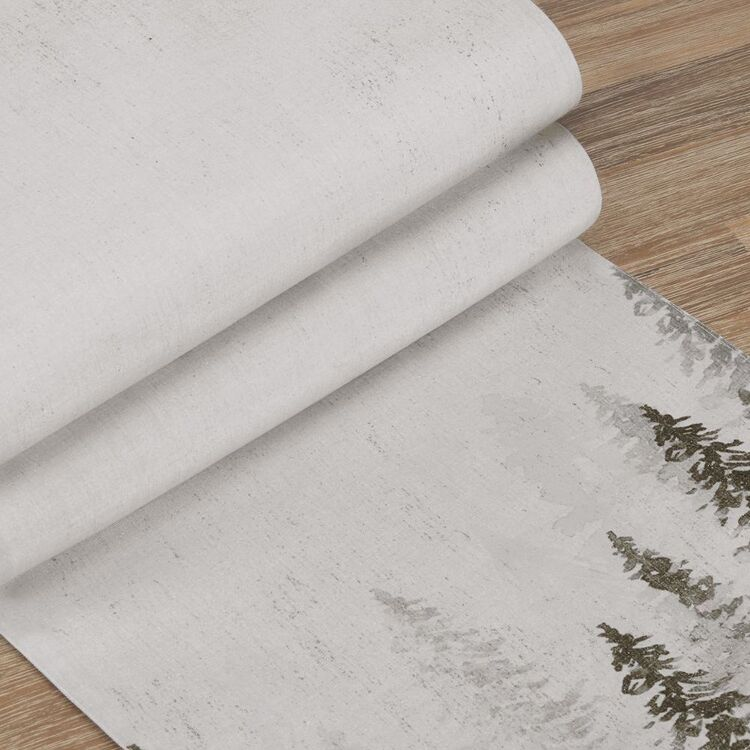 Bouclair Frosty Moments Tree Table Runner