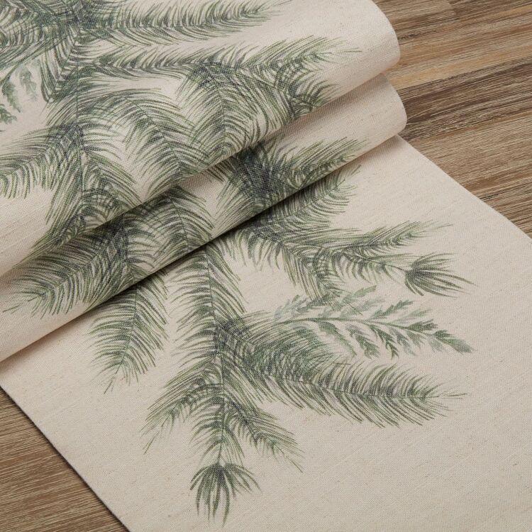 Bouclair Winter Memories Pine Table Runner