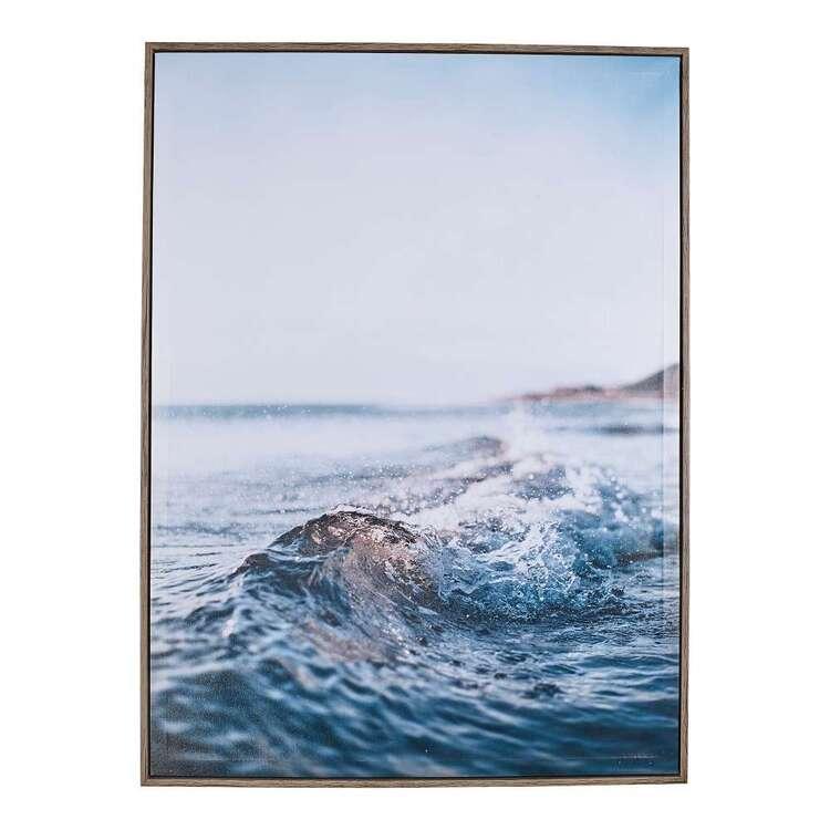Off The Coast Framed Canvas Wall Art