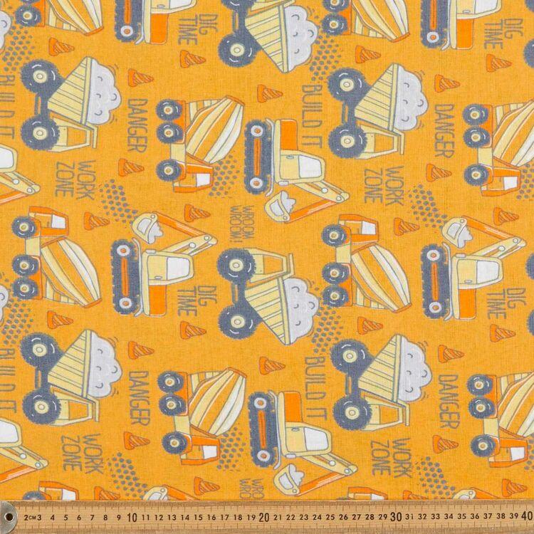 Work Zone 120 cm Multipurpose Cotton Fabric