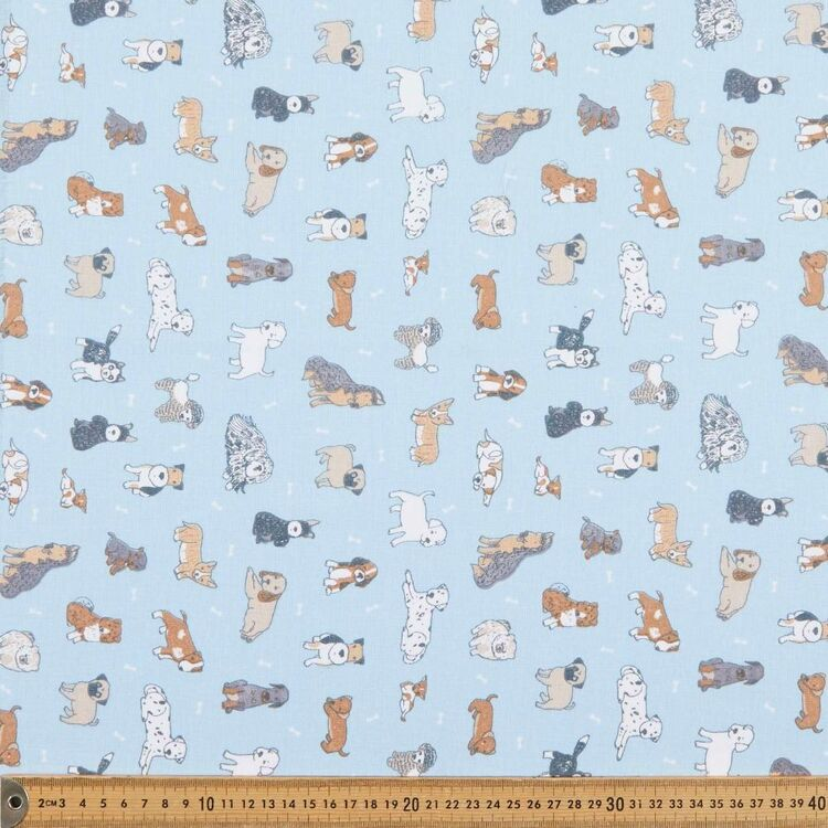 Dog Park 120 cm Multipurpose Cotton Fabric