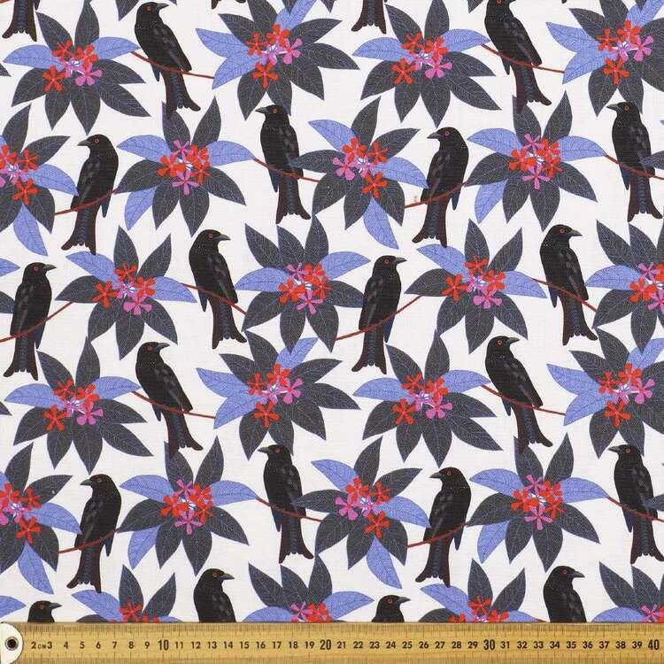Jocelyn Proust 150 cm Spangled Bird Cotton Canvas Fabric