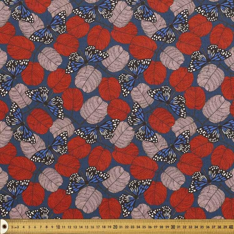 Jocelyn Proust 150 cm Butterfly Cotton Canvas Fabric
