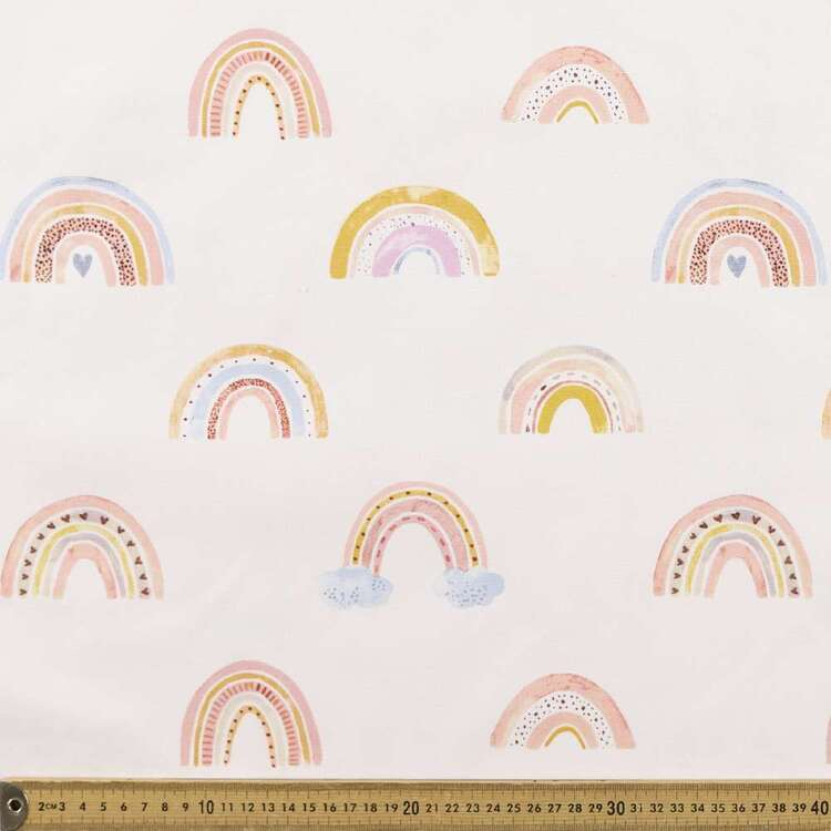 Lucky Charm Printed 112 cm Buzoku Duck Fabric