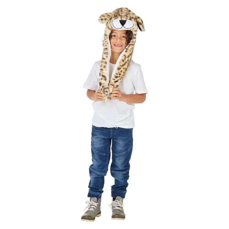 Spartys Leopard Moving Ears Hat