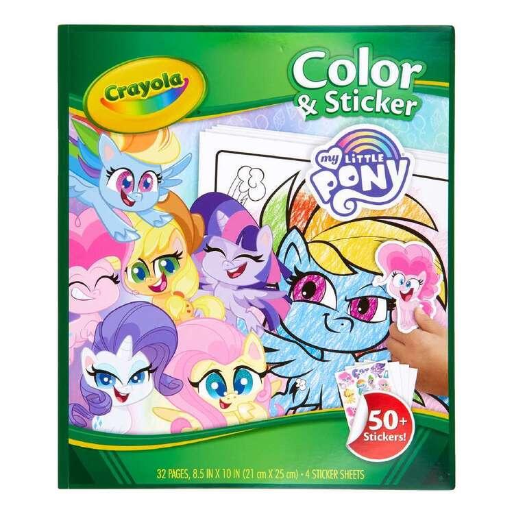 Crayola My Little Pony Colour & Sticker Book