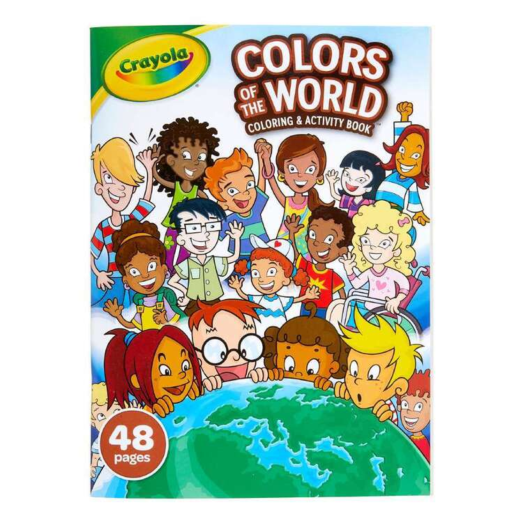 Crayola Colours Of The World Colouring & Activity Book