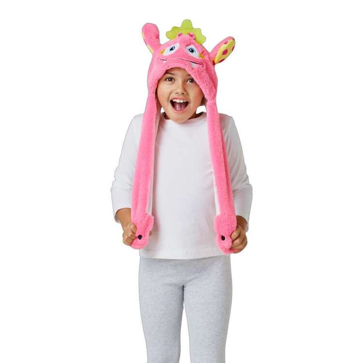 Spartys Pink Monster Moving Ears Hat