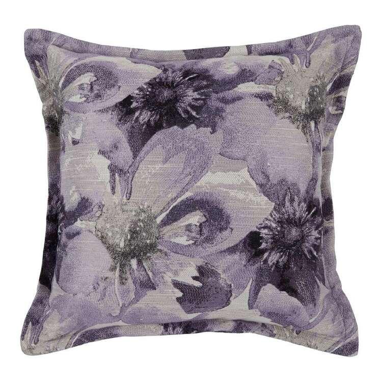 KOO Athena Floral Jacquard Cushion