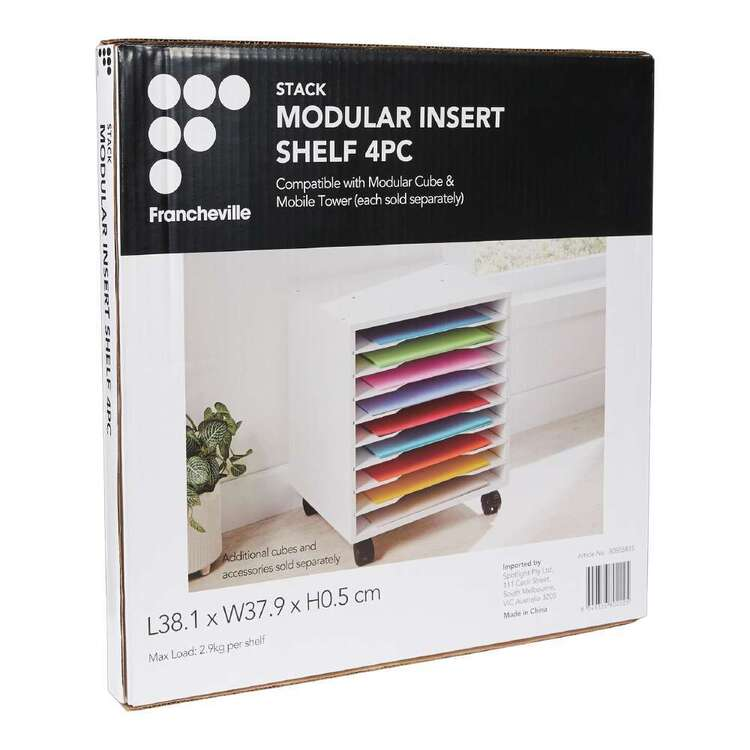 Francheville Stack Insert Shelf
