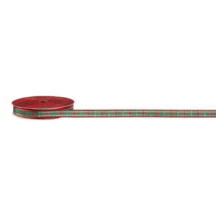 Tartan #2 Traditional Christmas Ribbon