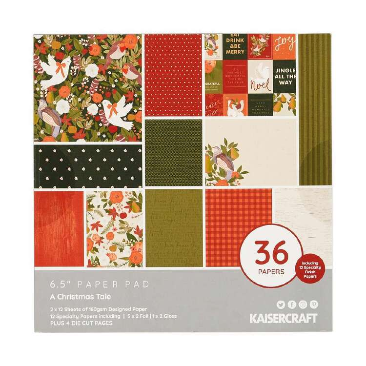 Kaisercraft 6 x 6 in A Christmas Tale Paper Pad