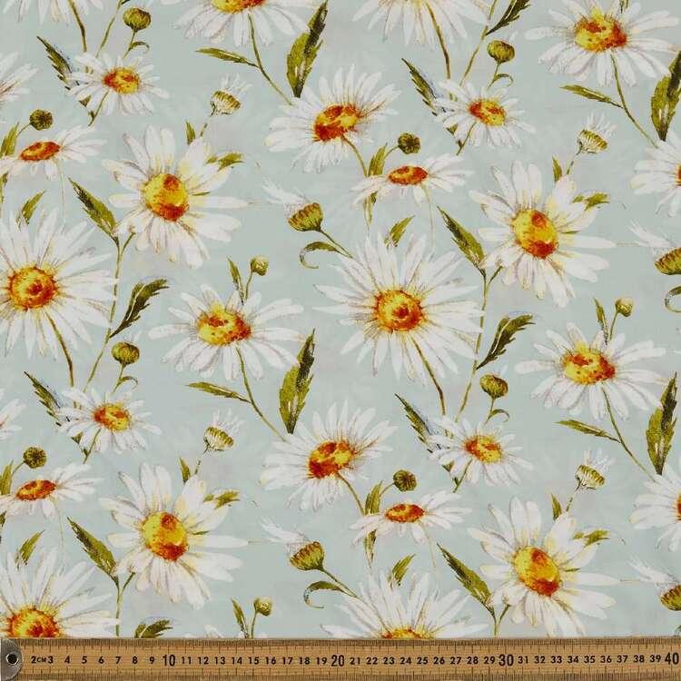 Daisy Printed 135 cm Rayon Fabric