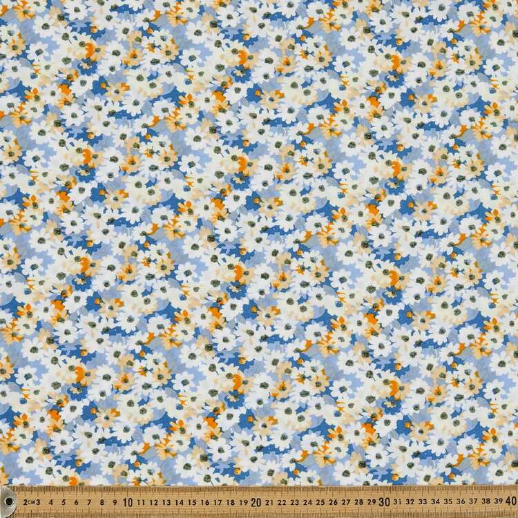 Dapple Printed 135 cm Rayon Fabric