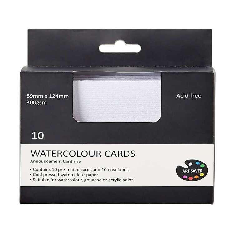 Art Saver 89 x 124 mm Acid Free Watercolour Cards
