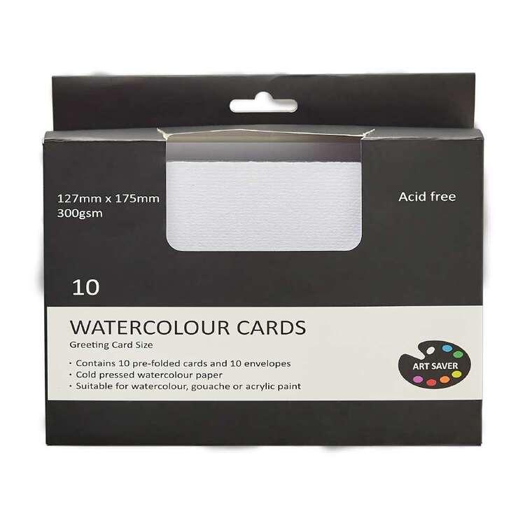Art Saver 127 x 175 mm Acid Free Watercolour Cards