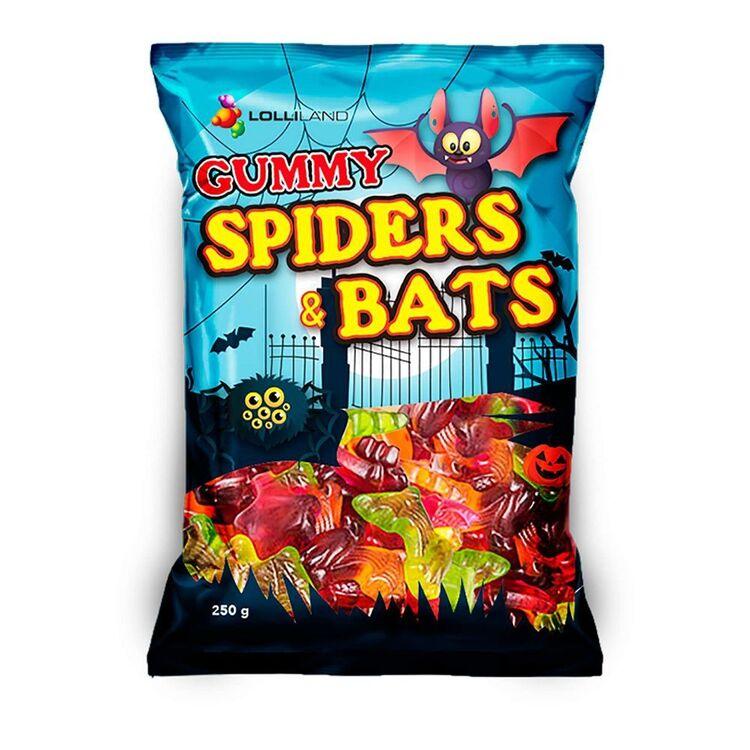 Lolliland Gummi Bats & Spiders