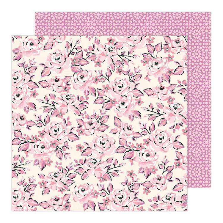American Crafts 12 x 12 in Bloom Paper Pad