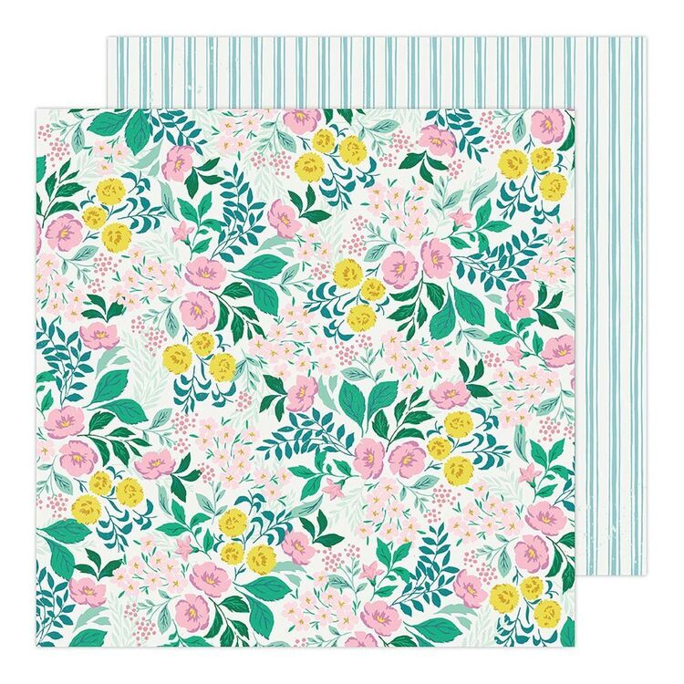 American Crafts Wildflowers 12 x 12 in Paper Pad