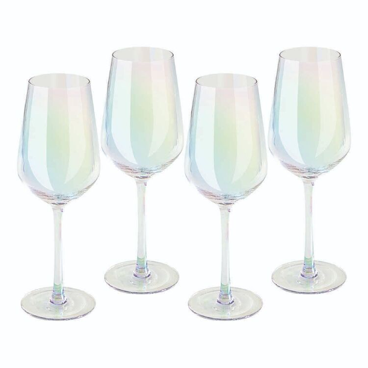 Culinary Co 4 Pack Tranquil White Wine Glasses