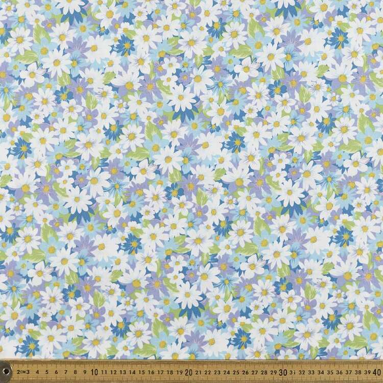 Daisy Fields Printed 112 cm Poplin Fabric