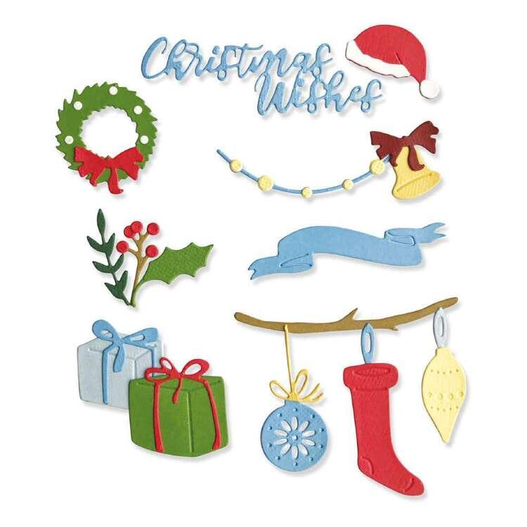 Sizzix Thinlits Christmas Decoration Die Set 20 Pack