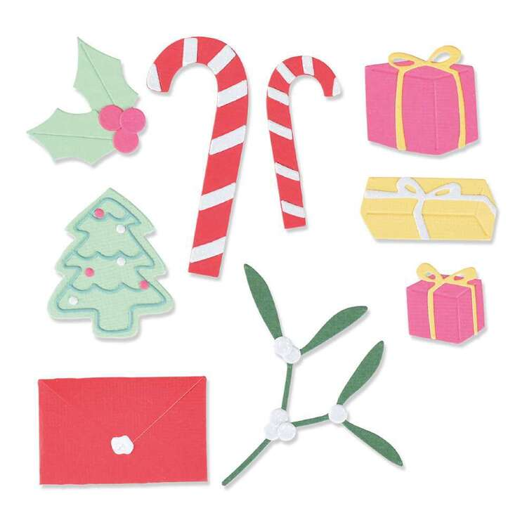 Sizzix Thinlits Stocking Fillers Die Set 14 Pack