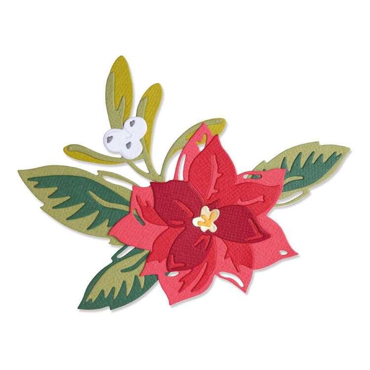 Sizzix Thinlits By Lisa Jones Layered Christmas Flower Die Set 13 Pack